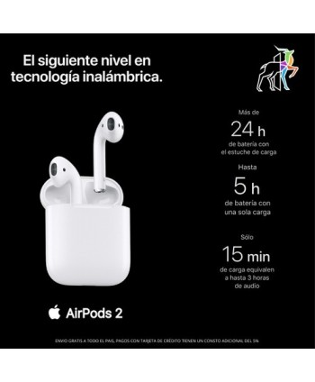 Audifonos airpods 2gen...